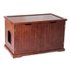 Merry Products Walnut Cat Washroom Bench