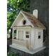 The Kottage Kabin Birdhouse Red