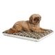 Quiet Time Teflon Brown/Fleece Dog Crate Pad 48in