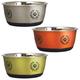 Durapet Fashion Metal Dog Bowl XSmall Gold