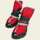 Neo Paws Breathable Indoor Boots Red XLarge