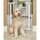 Midwest GLOW White Steel Pet Gate 39in Tall