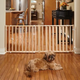 Midwest Extra-Wide Wood Pet Gate 24 inches Tall