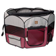 One for Pets Fuschia/Grey Portable Pet Playpen SM