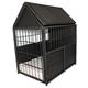 Iconic Pet Rattan Indoor/Outdoor Crate w/Storage