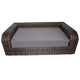 Iconic Pet Rattan Indoor/Outdoor Pet Sofa Bed
