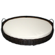 Iconic Pet Rattan Round Indoor/Outdoor Bed Small