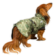 Hurtta Summit Green Camo Dog Parka 36in
