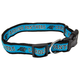 Carolina Panthers Ribbon Dog Collar Large
