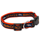Denver Broncos Ribbon Dog Collar Small