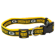 Green Bay Packers Ribbon Dog Collar Large
