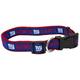 New York Giants Ribbon Dog Collar Small