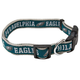 Philadelphia Eagles Ribbon Dog Collar Small