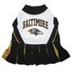 Baltimore Ravens Cheerleader Dog Dress Medium