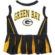 Green Bay Packers Cheerleader Dog Dress XSmall