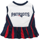 New England Patriots Cheerleader Dog Dress Medium