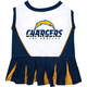 San Diego Chargers Cheerleader Dog Dress XSmall