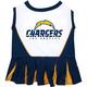 San Diego Chargers Cheerleader Dog Dress Medium