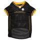 Pittsburgh Steelers Yellow Trim Dog Jersey 2XLarge