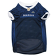 San Diego Chargers White Trim Dog Jersey Large
