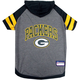 Green Bay Packers Hoodie Dog Tee Shirt XSmall