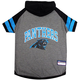Carolina Panthers Hoodie Dog Tee Shirt Large