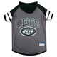 New York Jets Hoodie Dog Tee Shirt Large