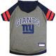 New York Giants Hoodie Dog Tee Shirt Large