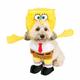 Walking Spongebob Squarepants Dog Costume Large