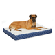 Quiet Time Donovan Blue Ortho Dog Bed 36x48