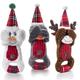 Charming Pet Christmas Peek A Boo Dog Toy Snowman