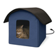 Creative Solutions Heated Outdoor Kitty Barn