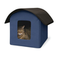 Creative Solutions Blue Outdoor Kitty Barn