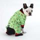 Petrageous Holiday Dogs Green Dog Pajamas XSmall