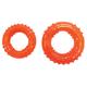 Starmark Treat Dispensing Looper Dog Toy Large