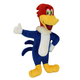 Multipet Woody Woodpecker Plush Dog Toy