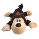 KONG Cozie Funky Monkey Plush Dog Toy Small
