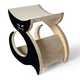 Pet Life Purresque Designer Lounger Cat Scratcher