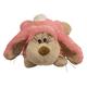 KONG Cozie Floppy Rabbit Medium Plush Dog Toy