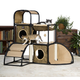 Prevue Catville Townhome 3 Level Cat Furniture