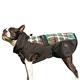 FITS Dog Coats XL Navy/Red Plaid