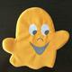 Pridebites Plush Ghost Halloween Dog Toy