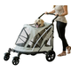 Pet Gear Expedition No Zip Stroller Fog