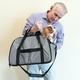Gen7Pets Carry Me Sleeper Pet Carrier Heather Gray