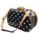 Pet Life Fashion Dotted Venta-Shell Pet Carrier