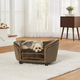 Enchanted Home Pet Plush Mink Snuggle Sofa Dog Bed