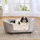 Enchanted Home Pet Plush Hudson Sofa Dog Bed