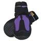 Muttluks Snow Mushers Dog Boots 2-PK XXS/XS Purple