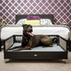 New Age Pet ecoFLEX Espresso Raised Dog Bed XLarge
