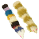 Iconic Pet Two Fur Weasel Toys